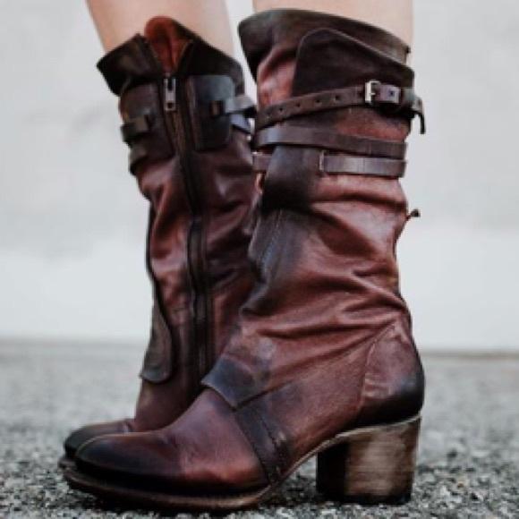 e41bb2d6109 🍃💕NIB Steve Madden Freebird Leather Caden Boot Boutique